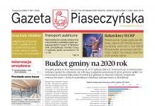 Gazeta Piaseczyńska nr 1/2020