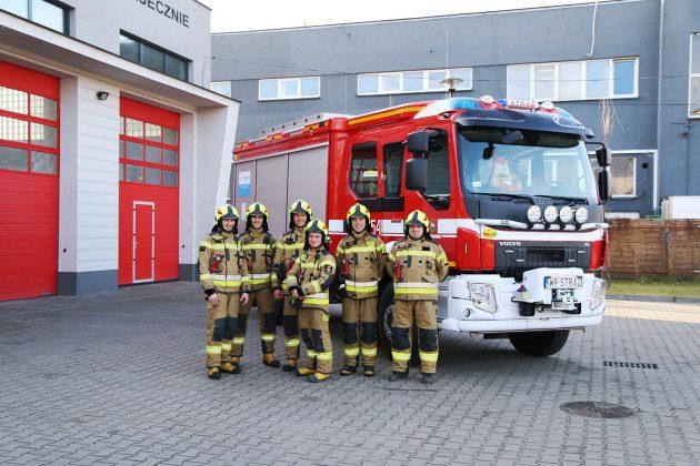 samochód pożarniczy OSP Piaseczno