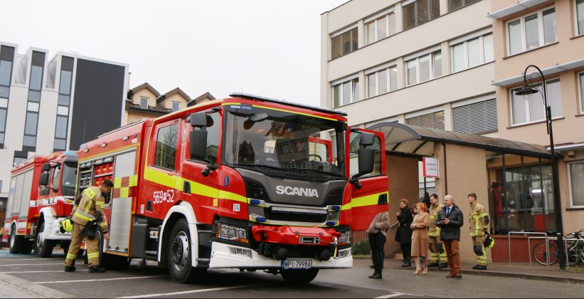 strażacy na sesji
