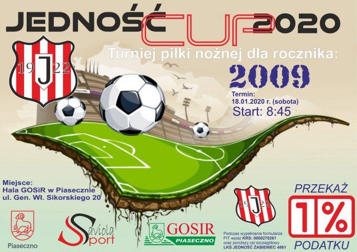Jedność CUP 2020 turniej piłki nożnej dla rocznika 2009