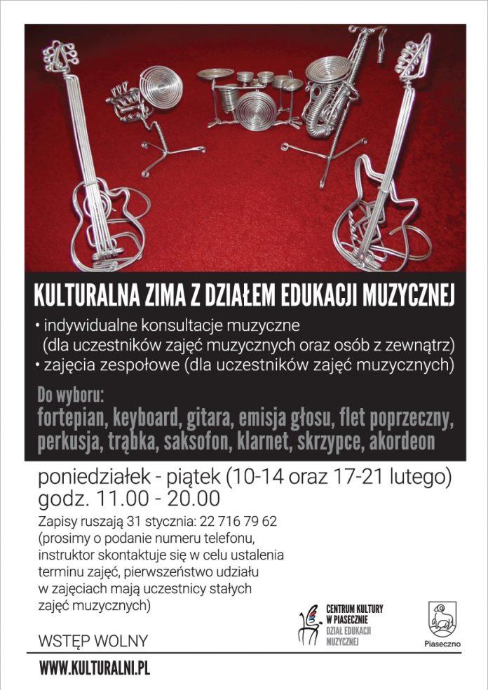 Kulturalna Zima z Działem Edukacji Muzycznej