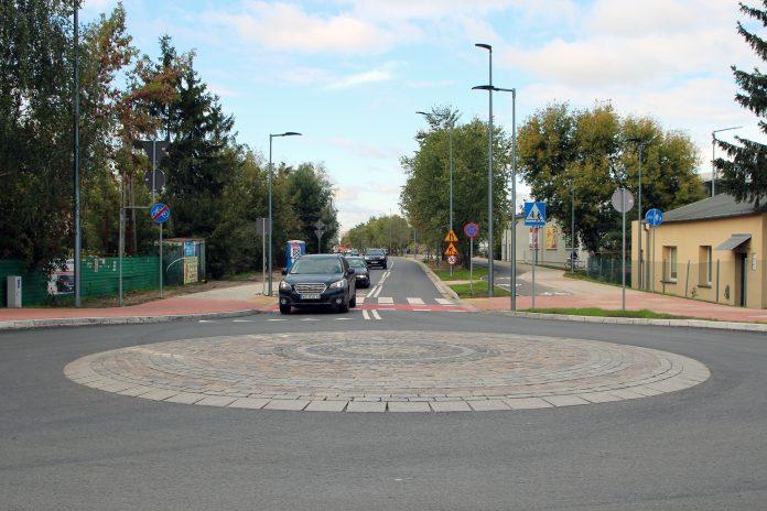 Przebudowana ulica Geodetów wraz z rondem na Julianowskiej