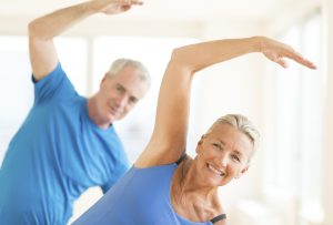 Senior ćwiczy - gimnastyka dla seniorów