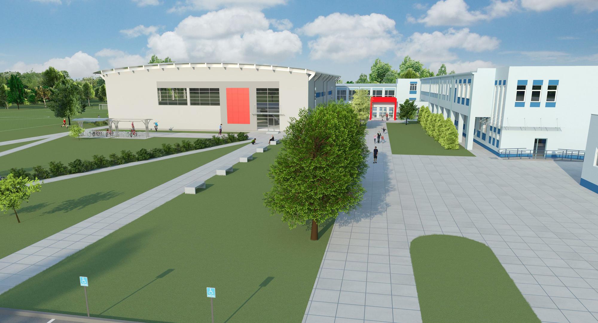 W Złotokłosie powstanie hala sportowa przy Szkole Podstawowej