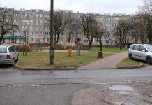 Al. Róż - stan obecny, foto Anna Grzejszczyk