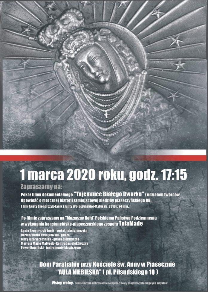 Pokaz filmu i muzyczny hołd dla Polskiego Państwa Podziemnego