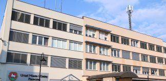 Budynek Urzędu Miasta i Gminy Piaseczno przy ul. Kościuszki 5