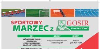 Odwołane imprezy w maju w GOSiR Piaseczno