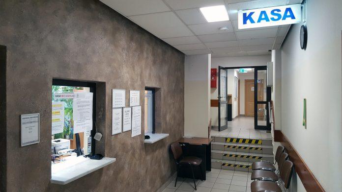 Kasa w Urzędzie Miasta i Gminy Piaseczno przy ul. Kościuszki 5 w Piasecznie, foto: Marcin Borkowski