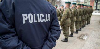 Minister Obrony Narodowej Mariusz Błaszczak podjął decyzję w sprawie użycia oddziałów i pododdziałów Sił Zbrojnych Rzeczypospolitej Polskiej do pomocy policji (fot. PAP)