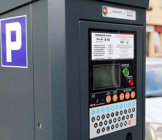 Parkometr Strefa Płatnego Parkowania w Piasecznie