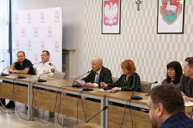 Spotkanie burmistrza z dyrektorami wszystkich jednostek organizacyjnych oraz prezesami miejskich spółek