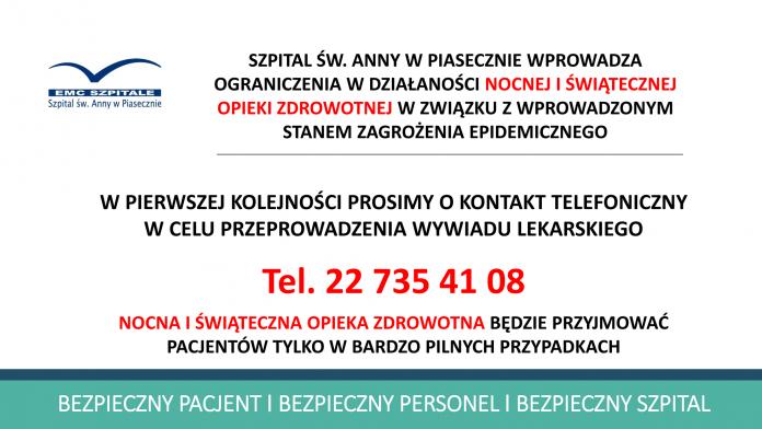 Weryfikacja telefoniczna w ramach nocnej i świątecznej opieki zdrowotnej