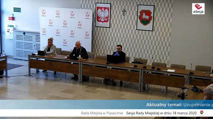 XXII sesja Rady Miejskiej w Piasecznie