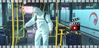 Autobusy obsługujące linie L przechodzą dezynfekcję
