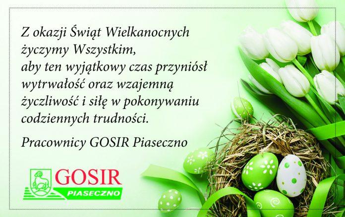 Życzenia Wielkanocne 2020r.