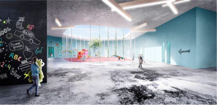 Koncepcja projektowa Szkoły Podstawowej z oddziałem przedszkolnym i biblioteką w Julianowie