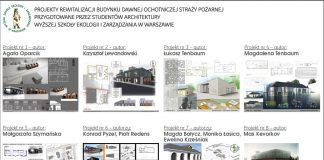 Koncepcja rewitalizacji budynku dawnej Ochotniczej Straży Pożarnej w Piasecznie