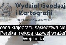 Ocena krajobrazu sąsiedztwa cieku Perełka metodą krzywej wrażeń Wejcherta