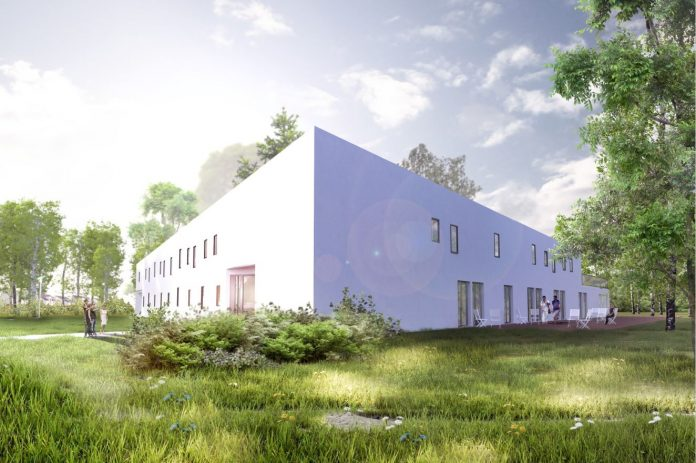 Projekt Centrum Integracji Społecznej w Piasecznie w powiązaniu z kompleksem sportowym