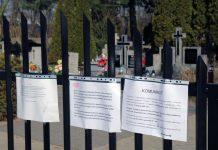 Tymczasowe zamknięcie Cmentarza Komunalnego w Piasecznie - kwiecień 2020