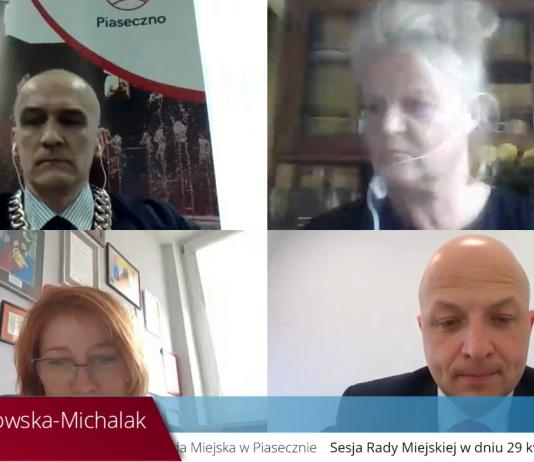 XXIV sesja Rady Miejskiej w Piasecznie