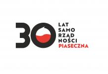30 lecie samorządności Piaseczna - logo