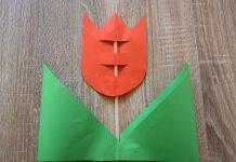 DIY. Zrób coś z niczego – Tulipan z okazji Dnia Matki