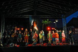 Koncert Arki Noego w Piasecznie z okazji kanonizacji Jana Pawła II w 2014 roku, foto: Piotr Michalski