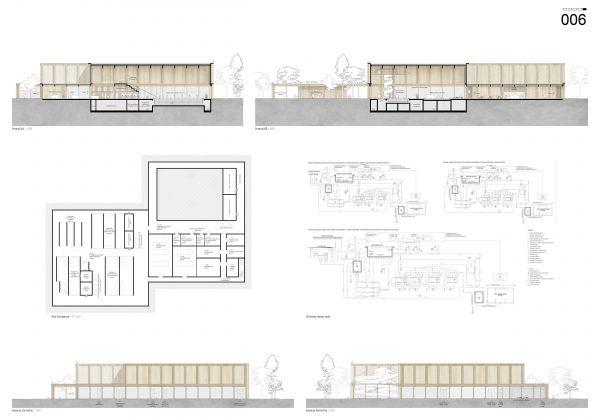 Najlepsza praca w konkursie architektonicznym na basen kryty przy ul. Chyliczkowskiej w Piasecznie