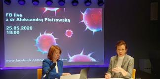 Koronawirus - fakty i mity - FB live 25 maja z dr Aleksandrą Piotrowską