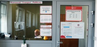 POP Punkt Obsługi Pasażerów ZTM WTP w budynku PKP Piaseczno