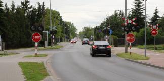 Skrzyżowanie Julianowskiej i Urbanistów
