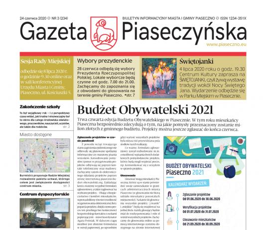Gazeta Piaseczyńska nr 3/2020