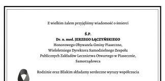 klepsydra - ostatnie pożegnanie doktora Jerzego Łączyńskiego