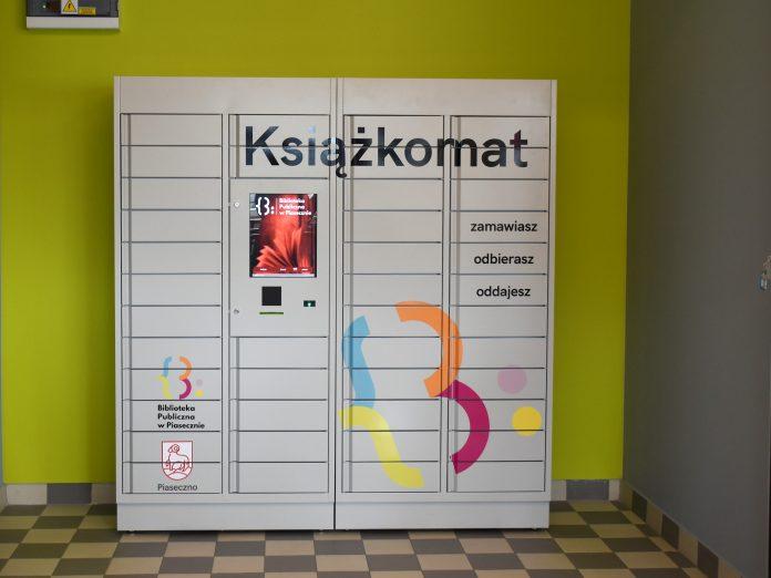 Książkomat w Piasecznie
