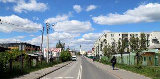 Ulica Dworcowa od skrzyżowania z ul. Nadarzyńską do ul. Jana Pawła II przed remontem