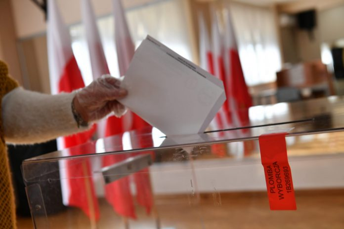 Wybory / Foto: Grzegorz Michałowski (PAP)