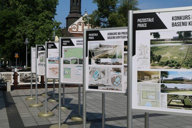 Wystawa pokonkursowa - Basen w Piasecznie