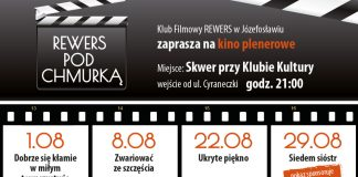 Kino plenerowe w Józefosławiu - Rewers pod Chmurką