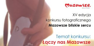 XV edycja konkursu fotograficznego Mazowsze bliskie sercu - plakat