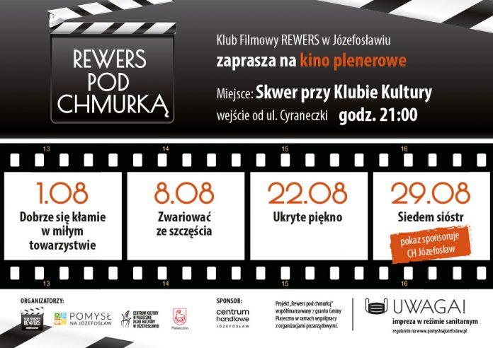 Klub Filmowy Rewers pod Chmurką - Kino Plenerowe w Józefosławiu