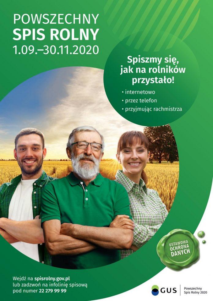 Rolniku, wypełnij obowiązek i weź udział w spisie rolnym