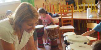 Lato w mieście w szkole podstawowej w Głoskowie