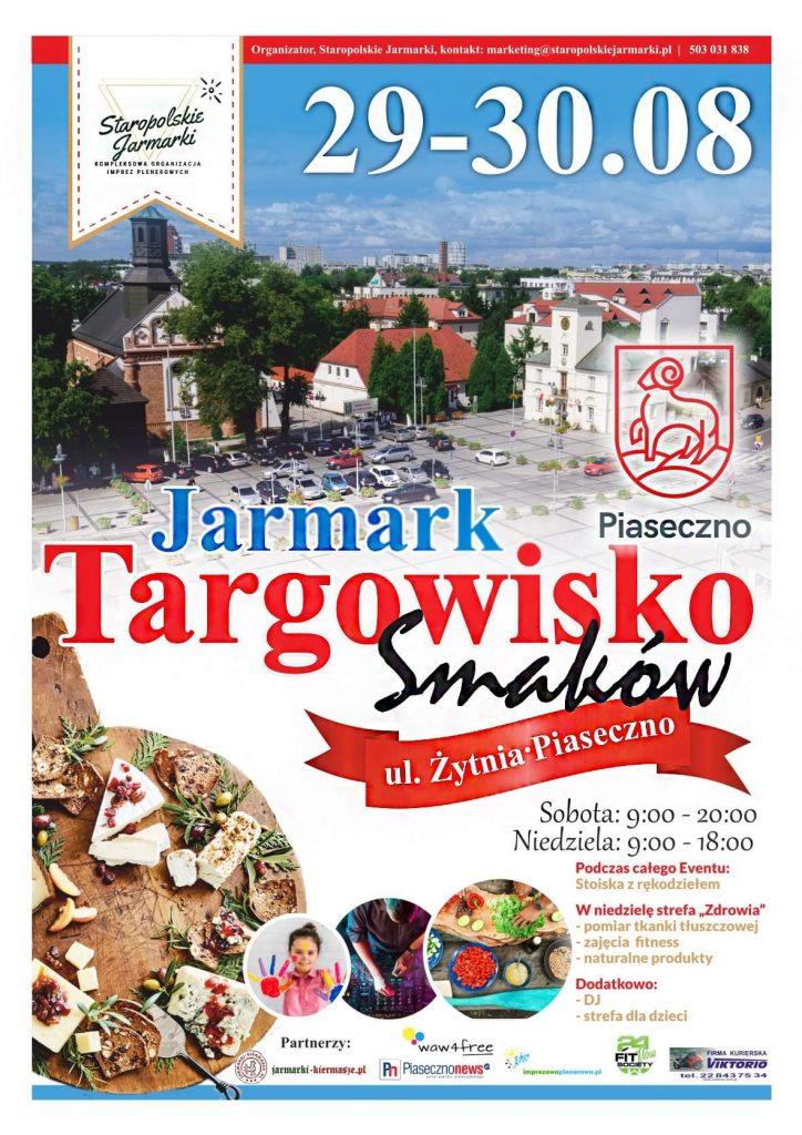 Jarmark Targowisko Smaków plakat z logo