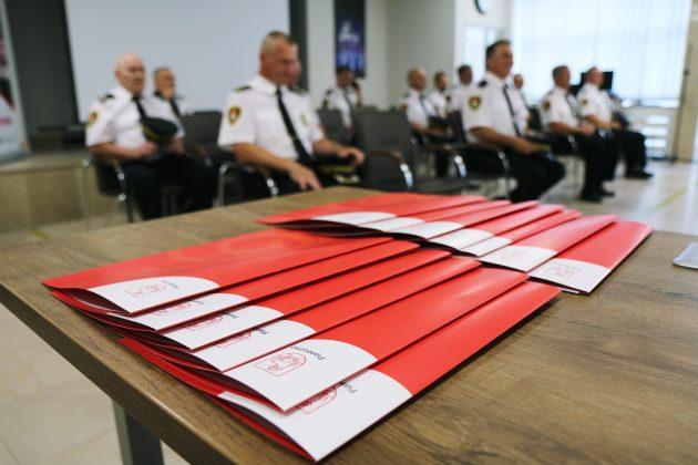 Dzień Straży Gminnej 2020 - wręczenie nominacji i złożenie życzeń