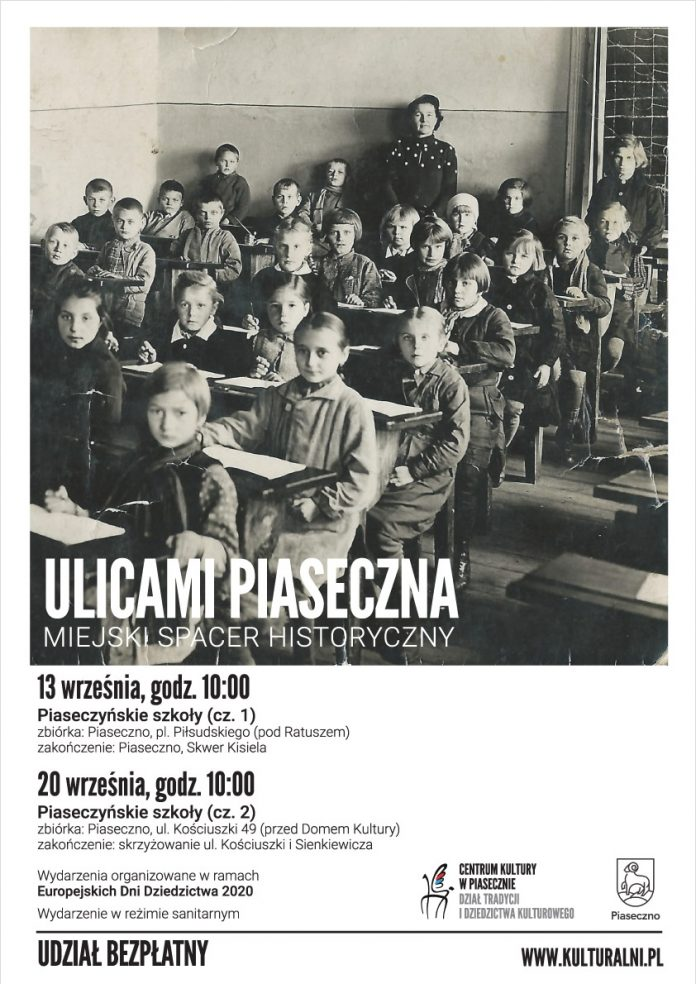 Piaseczyńskie szkoły - Ulicami Piaseczna Miejski Spacer Historyczny