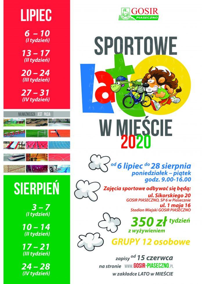 VI turnus 10-14.08.2020r. grupy oraz plany zajęć