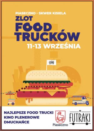 zlot foodtrucków 11-13 września 2020 - skwer Kisiela