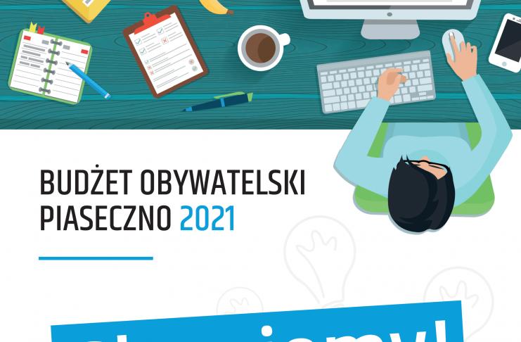 Głosujemy od 21 do 30 września 2020 roku - Budżet Obywatelski Piaseczno 2021 - do wydania 1 mln zł / nie zwlekaj, głosuj!